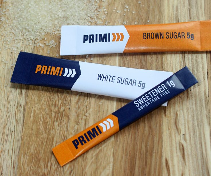 Primi Sugar & Sweetener Stick Sachets by Creating a Storm