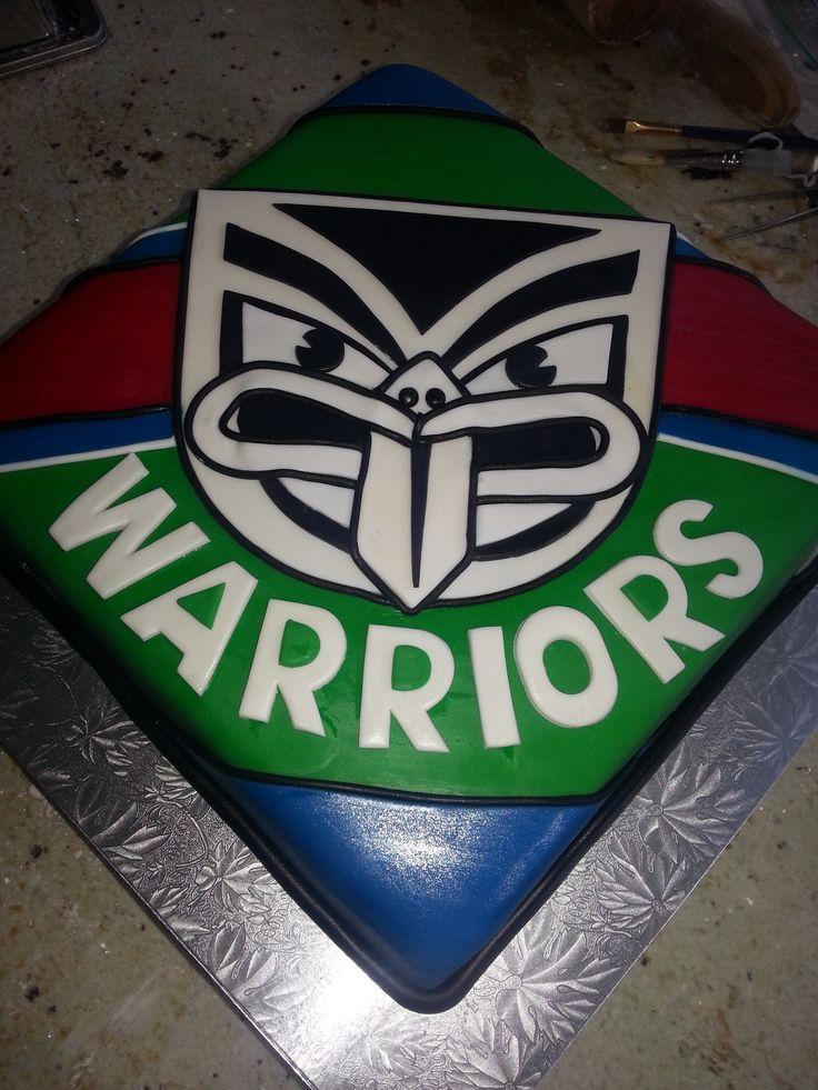 Warriors Cake