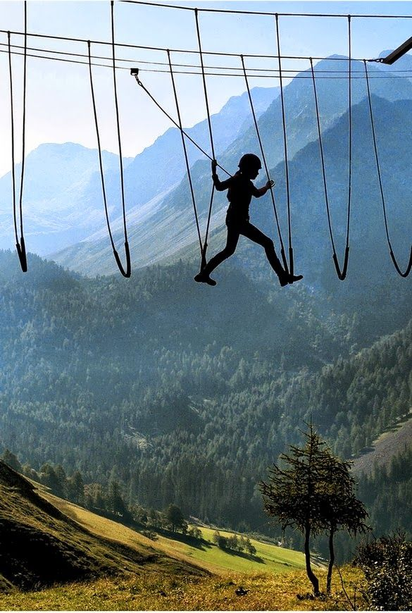 Cliff camping        Skywalking in the Alps         Portaledge camping at Yosemite       Climbing Redwoods       Sitting on ...