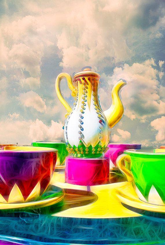 Открытка чаепитие в хоббитшире