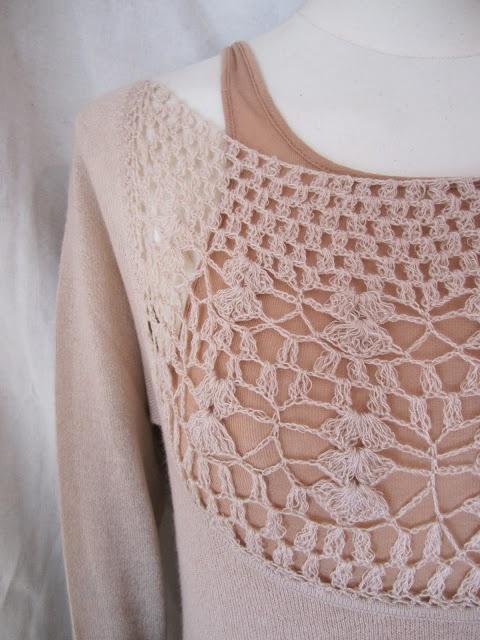 Crochet insert WORTHWHILE: RYAN ROCHE