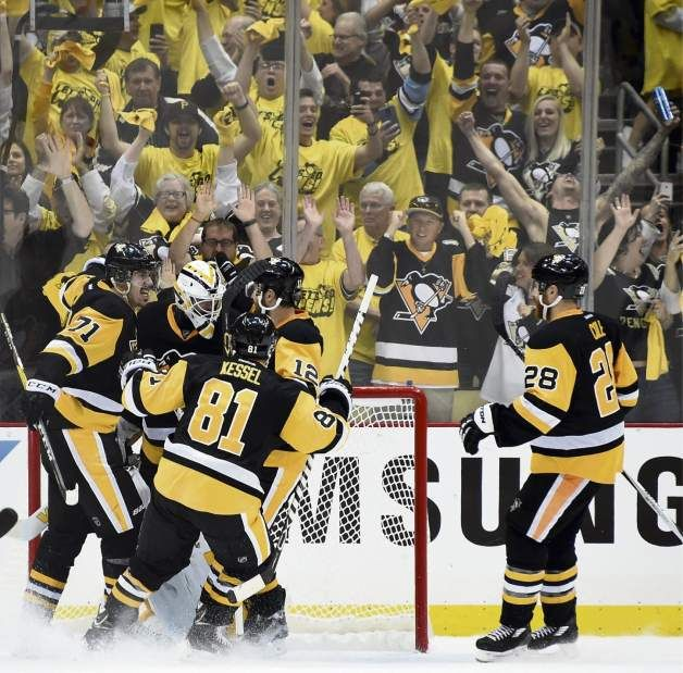 May 26, 2016 — Eastern Conference final: Penguins 2, Lightning 1 (Photo: Chaz Palla     Tribune-Review)