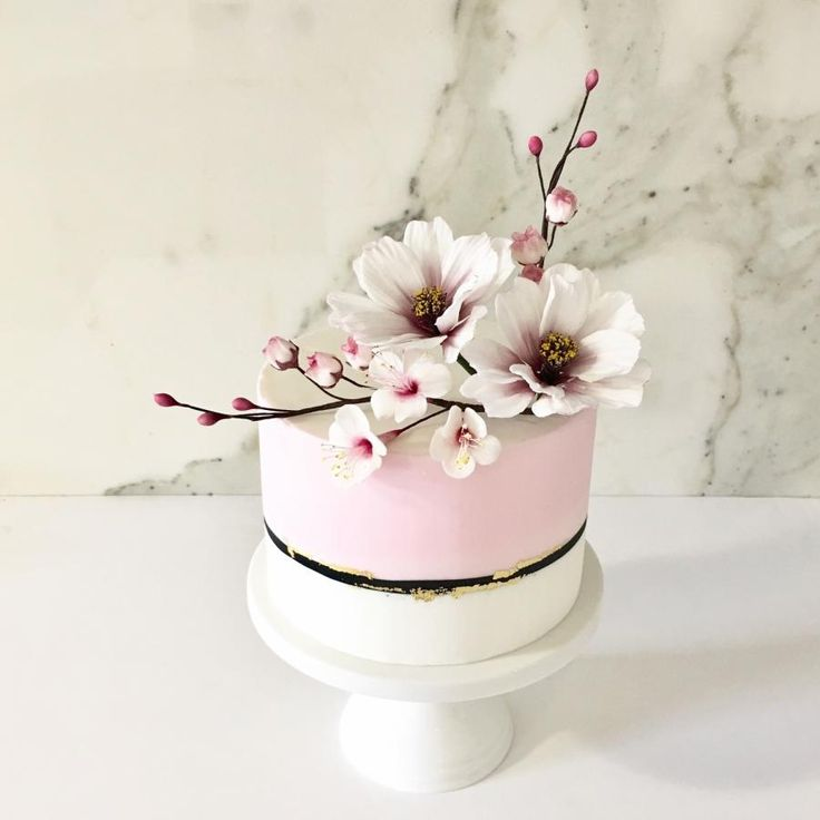 Colour Blocking with Spring Sugar Flowers by Tammy Iacomella