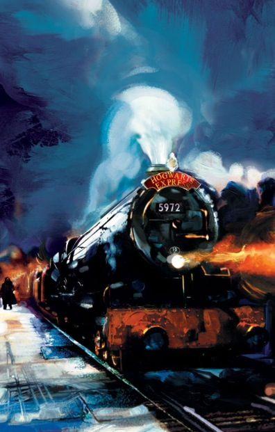 Hogwarts express painting