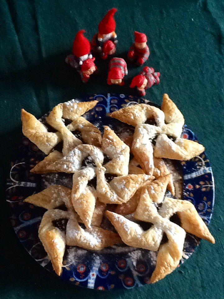 Home made Xmas pastry joulutorttu