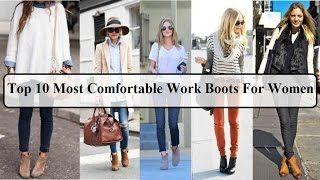 Work Boots For Women | Top 10 Most Comfortable Work Boots For Women  Womens Work Boots