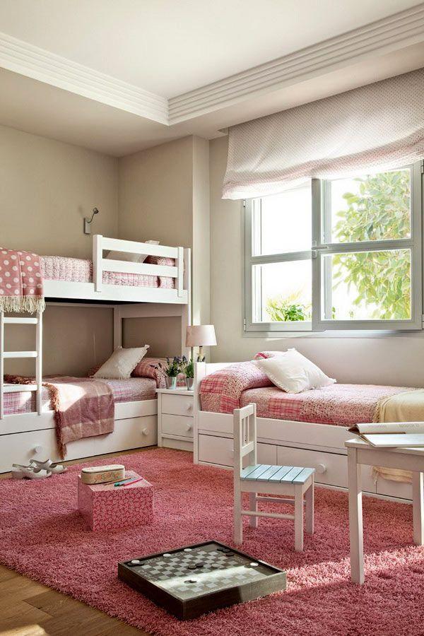 Двухъярусные кровати. 16 идей экономии пространства в детской комнате