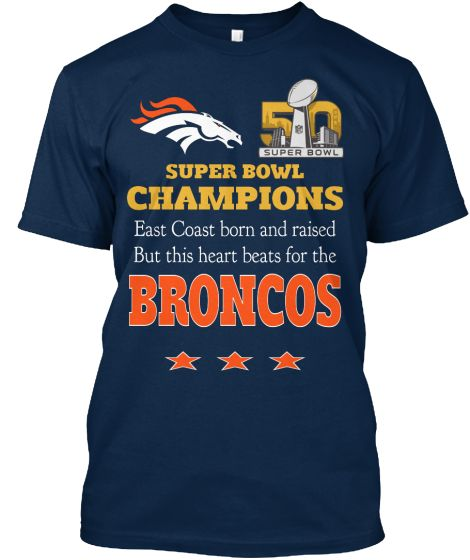 Were you born and raised on the East Coast? But your love and heart belongs to the mighty Denver BRONCOS! Then this shirt is for you!Officially licensed NFL  For more NFL Broncos and hoodies  http://teespring.com/stores/nfl-licensed-broncos    For other NFL teams, enter their name    ↑  here  ↑   instead  To follow or message us on Facebook   https://www.facebook.com/NFL-Licensed-Apparel-1678707412351375/?ref=tn_tnmn