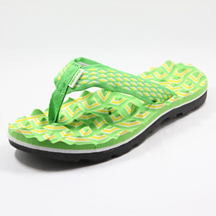 Cantorp Women's Shoes Nz Synthetic Flat Heel Flip Flops Slippers Casual Green  Price***NZ$26***