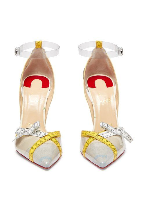 ca6b1d996ab Christian Louboutin Measuring Tape Pumps for AW18 - HighHeelseek ...
