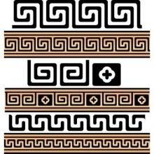 Greek meander - ring tattoo ideas