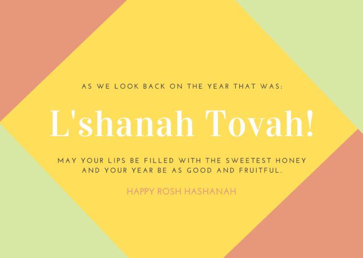 Pin On Happy Rosh Hashanah