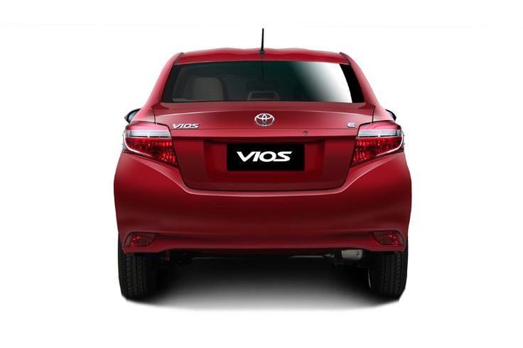 Toyota All New Vios - Rear View - AUTO2000