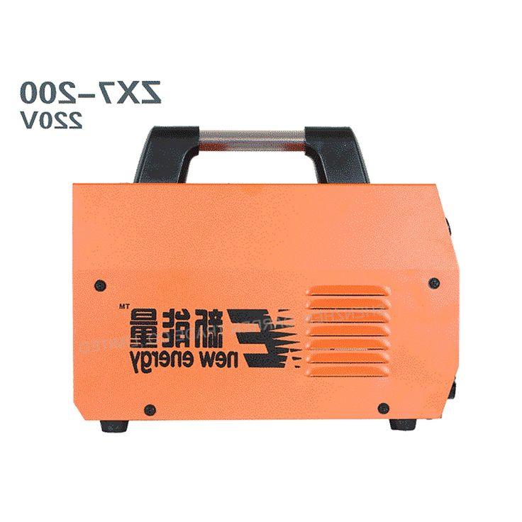 198.24$  Watch now - http://ali843.worldwells.pw/go.php?t=32713132136 - 4pcs DC Digital Inverter Welding Machine MMA ARC Welder zx7-200 Welder  220V Whole copper core portable  Upgrade 198.24$