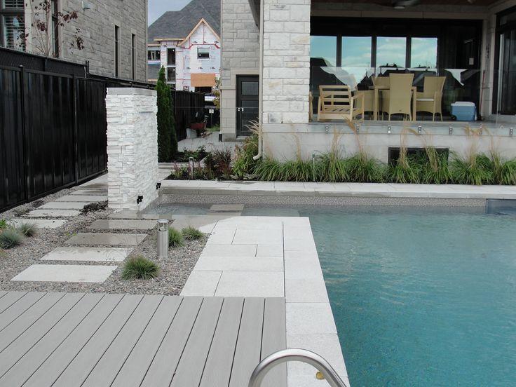 De 20 b sta id erna om piscine creus e p pinterest tr dg rdsdesign baksida amenagement - Piscine creusee moderne metz ...
