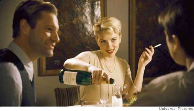 (L to R) Cop Lee Blanchard (AARON ECKHART), Lee�s Girlfriend, Kay Lake (SCARLETT JOHANSSON), and Bucky Bleichert (JOSH HARTNETT) in the 1940s thriller The Black Dahlia, directed by Brian De Palma. The Black Dahlia weaves a fictionalized tale of obsession, love, corruption, greed and depravity around the true story of the brutal murder of a fledgling Hollywood starlet that shocked and fascinated the nation in 1947 and remains unsolved today. The Black Dahlia will be released in theaters on…