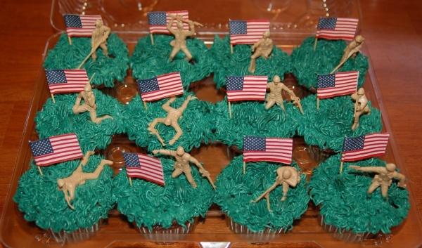 Military Cupcakes!!!
