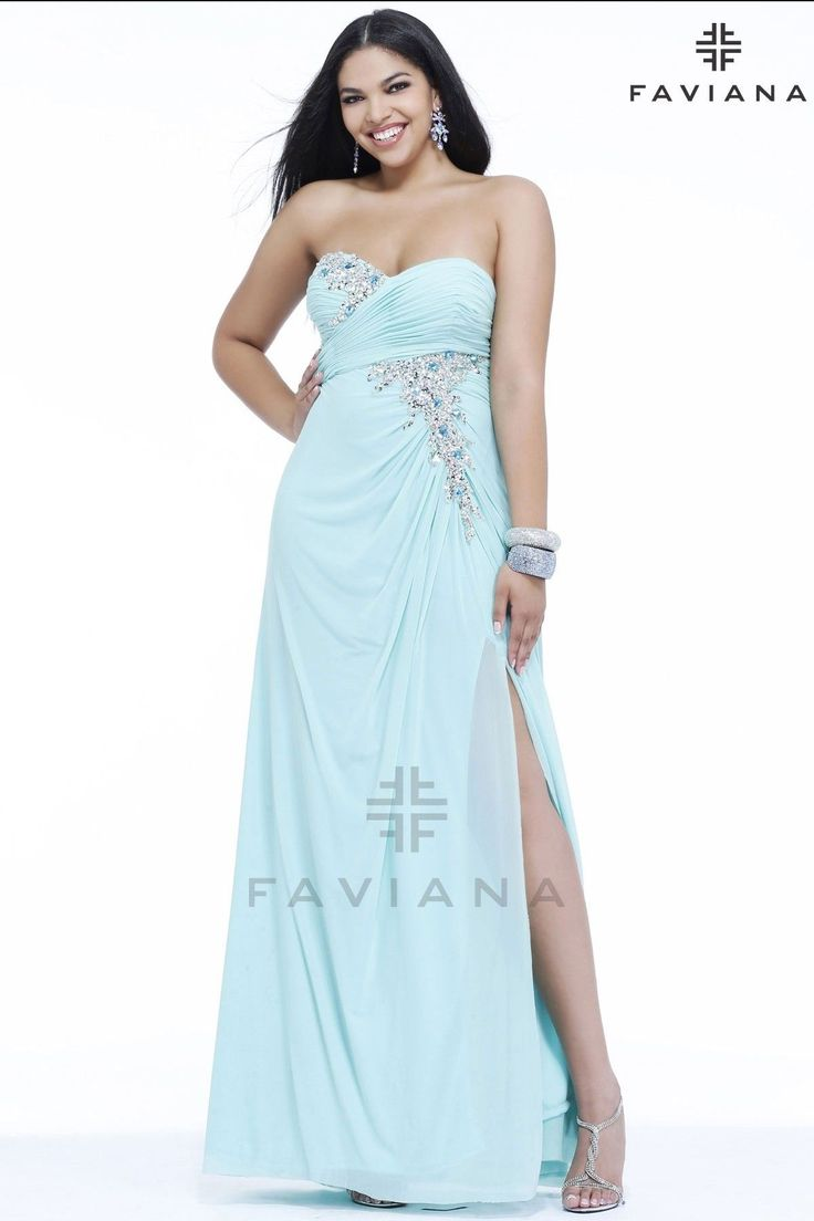 85 best Faviana Plus images on Pinterest | Party wear dresses ...