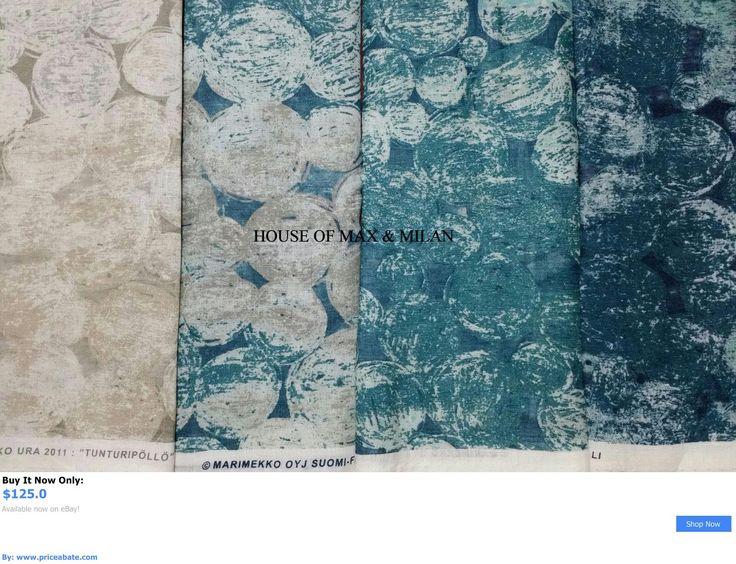 Home Decor: Marimekko Fabric The Atlantis Room 288L X 58W/8 Yards Of Gorgeous! *New* BUY IT NOW ONLY: $125.0 #priceabateHomeDecor OR #priceabate