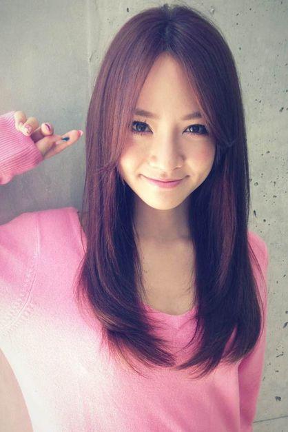 ナチュラルなピンクカラー   新宿の美容室 AFLOAT RUVUAのヘアスタイル   Rasysa(らしさ)