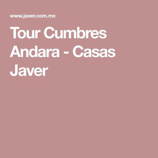 Tour Cumbres Andara - Casas Javer