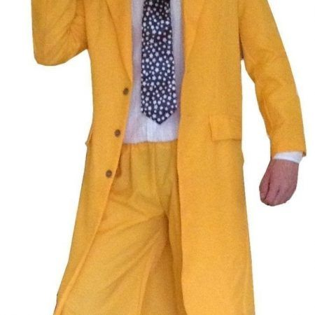 NEW!!! ON SALE - £23.99 - #FancyDress Mens 90s Yellow #Gangster #Zoot #Suit Costume  Buy here: http://sowestfancydress.com/products/mens-fancy-dress/fancy-dress-mens-yellow-gangster-zoot-suit-the-mask-jim-carrey-costume/