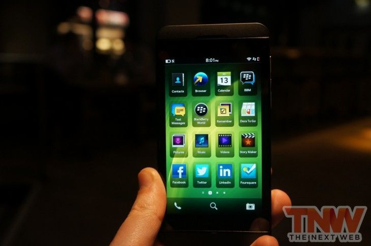 Up close and personal with the BlackBerry Z10
