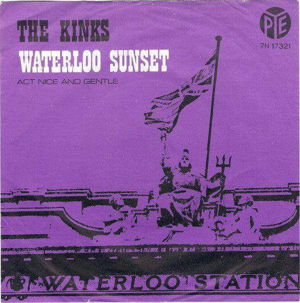 Pin Van Music Journey Op Singel Hoesjes Waterloo Sunset