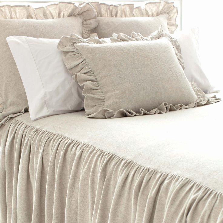 Pine Cone Hill Wilton Natural Bedspread @Layla Grayce