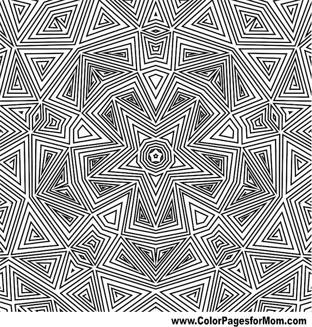Geometric Coloring Pages Advanced : Best images about coloring pages on pinterest dovers
