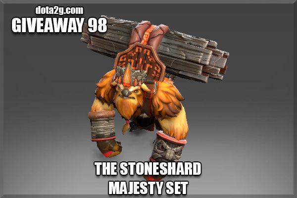 Giveaway 98 - The Stoneshard Majesty Set DOTA 2