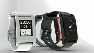 """Von Smartphone zu Smartwatch: """"Pebble"""" sorgt für Aufsehen"""