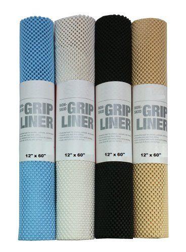 Non Skid Grip Shelf Liner Drawer Amp Cabinet Shelves Non