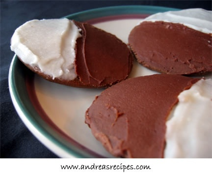 Chocolate half moons. Like the ones from Harrison bakery in Syracuse! kcarni