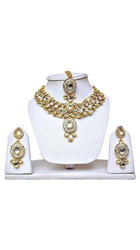 VVS Jewellers Dazzling Indian Bollywood Gold Plated Kunda... https://www.amazon.com/dp/B072B8XLB7/ref=cm_sw_r_pi_dp_x_-Gxgzb1NJMWFS