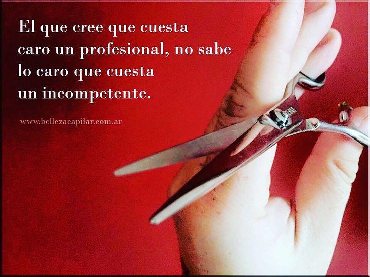 El verdadero valor de las cosas... Christian Diaz by. www.bellezacapilar.com.ar Estilista Profesional