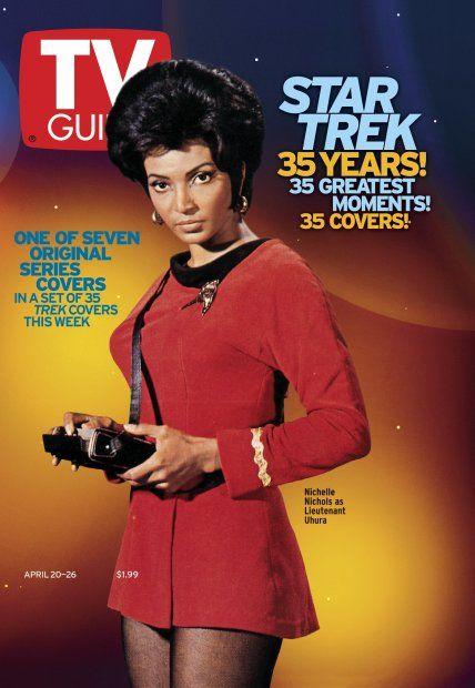 TV Guide April 20, 2002 (7 of 7) - Nichelle Nichols of Star Trek