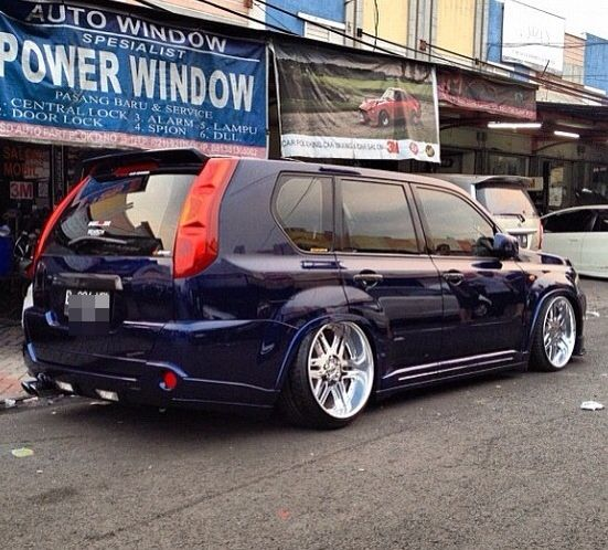 Club X, Nissan X-trail Club, Philippines :: View topic - Slammed T31