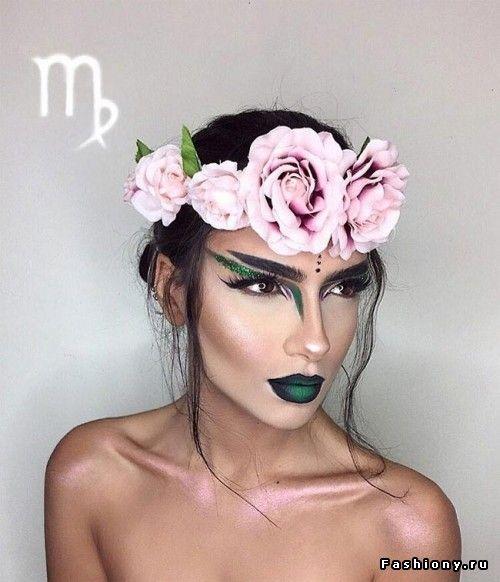 Все знаки зодиака в одном лице: фантазийный макияж от Сетер Хоссейни