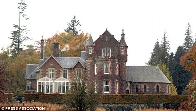 Snapped up: Andy Murray splashed out on the Cromlix House Hotel in Dunblane.