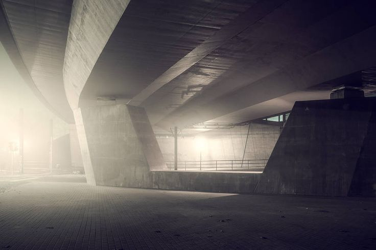 Mystical Pictures of Night Lights in the Fog – Fubiz Media