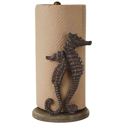 Seahorse paper towel holder most useful housewarming gifts