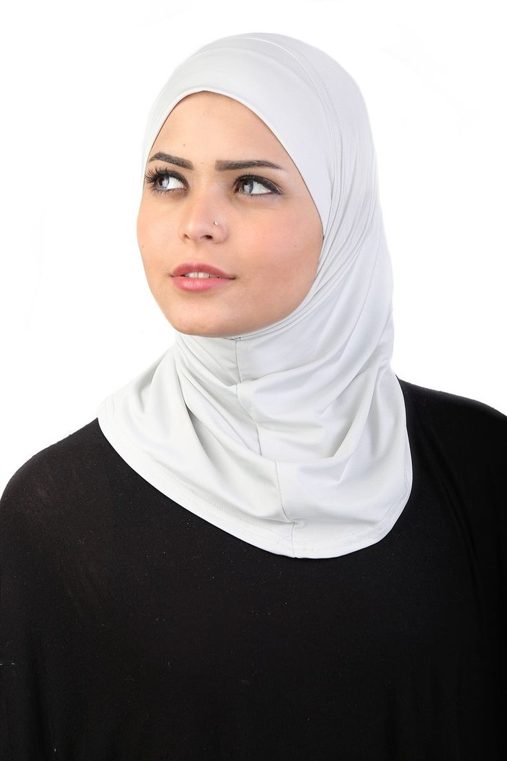 This Polyblend ready to wear Turban comes in light grey. #headscarves #cancerpatients #headcovers
