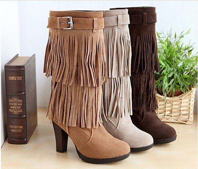 2013 New Hot sale autumn and Spring high heel boots shoe fine with the knee high boots watch Martin shoe