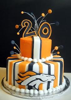 20 best Broncos party images on Pinterest Denver broncos cake