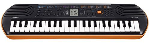 Casio SA76 44 mini Sized Keys 100 Tones - The Quick Gift