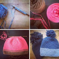 Tutorial einfache Mütze stricken