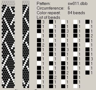 NooN beaded jewellery: crochet-beaded rope patterns …