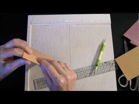 How to measure on Martha stewart scoring board part 2 - YouTube