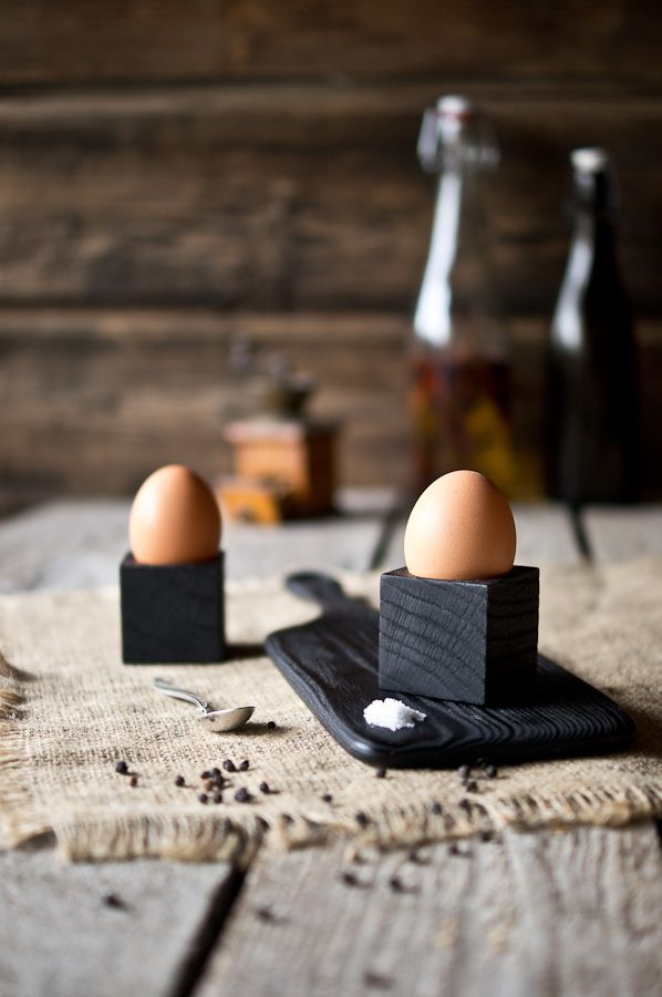 Handcrafted egg cups